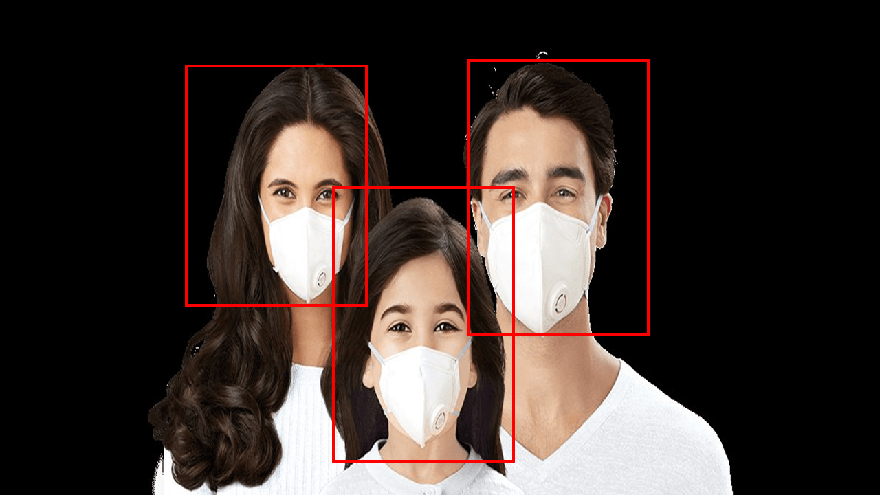 Face Mask Detector using RetinaNet Model