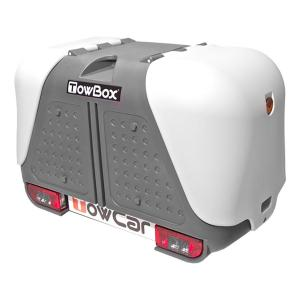 White and Grey tow Box