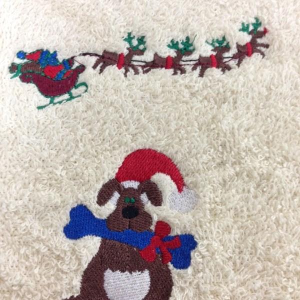 Custom Embroidery - Adorable Christmas Favorites