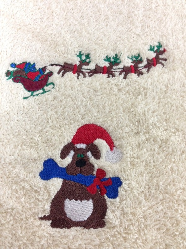 Custom Embroidery - Adorable Christmas Favorite