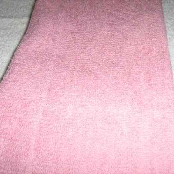 SALON TOWEL: Shampoo Towel/PINK