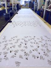 first run of printing