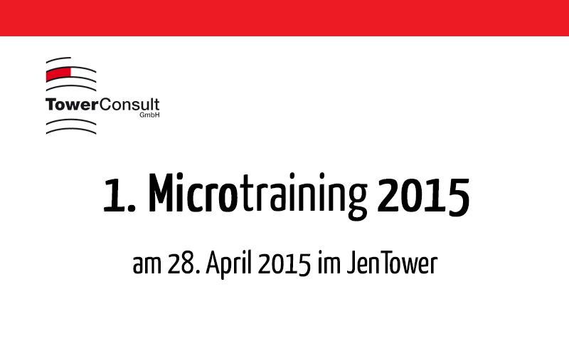 1. Microtraining 2015