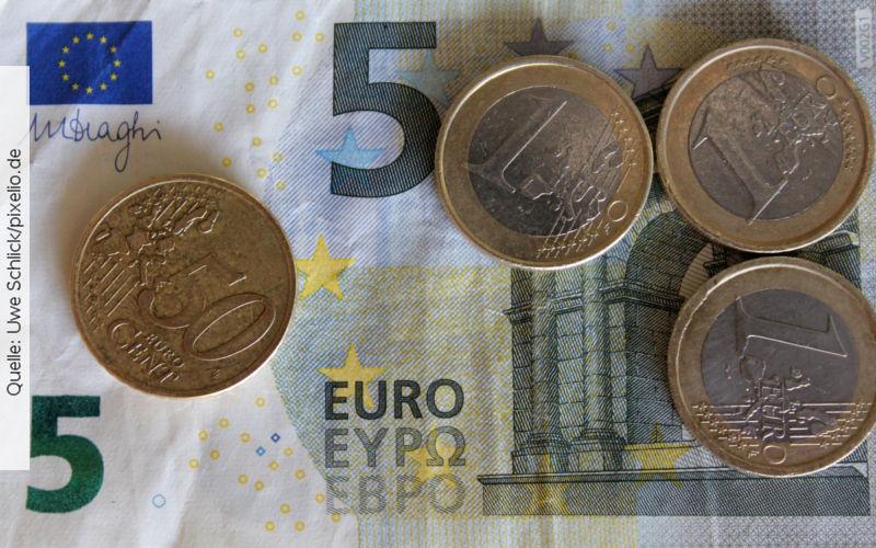 Mindestlohn, Quelle: Uwe Schlick/pixelio.de