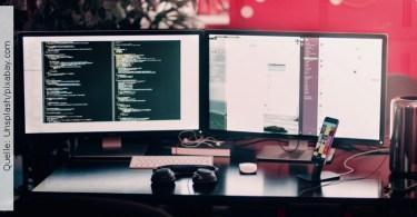 Full Stack Entwickler; Quelle: Unsplash/pixabay.com