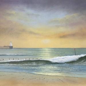 040-Sunrise, Blyth Beach