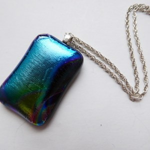 Rosie Waites glass pendant chain