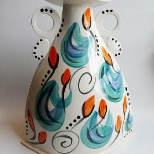 Varie Freyne orange bud jug.7jpg