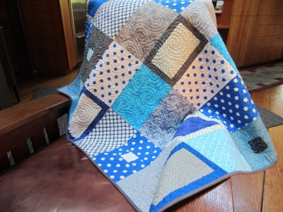 Tranquil Forest Baby Quilt (2)
