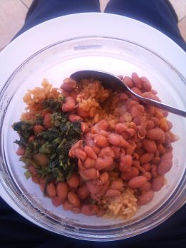 More rice & beans
