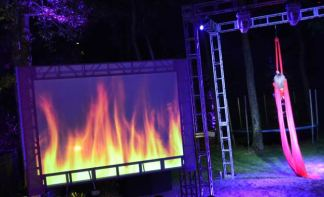 Fire-Projection-Trussing