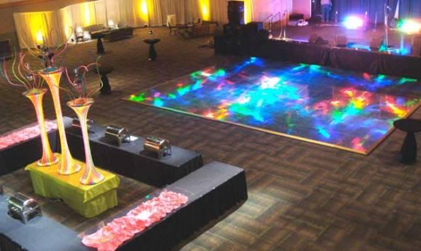Rainbow-holographic-dance-floor