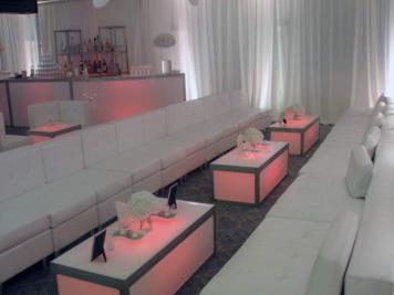 event production lounge decor rentals