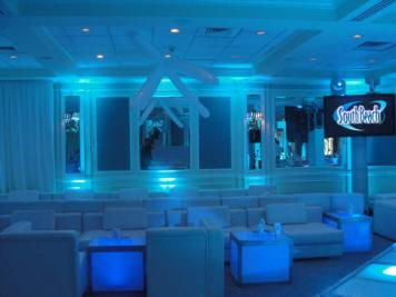 event furniture rental and lighting