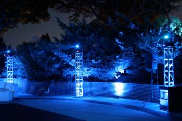 truss lighting pool party event production