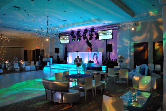 teen event decor