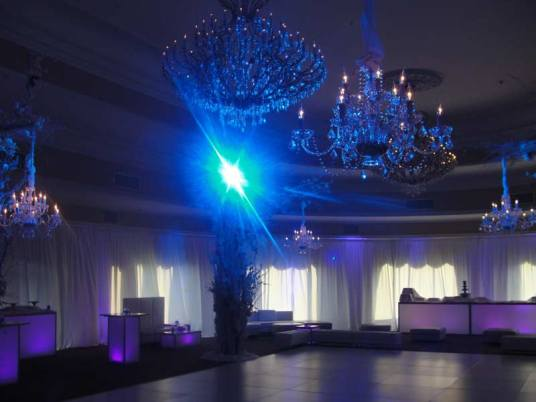 winter wedding event decor