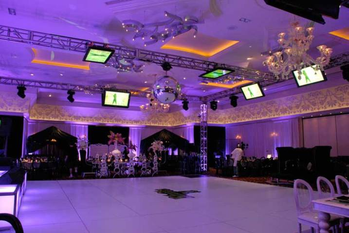 custom-event-production-disco-ball-staging-dance-floor-with-gobo