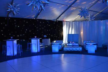 large-round-white-dance-floor
