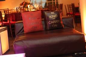 Customized event pillows