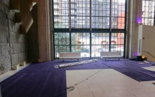 Custom-laid-carpet-for-bat-mitzvah