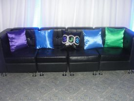 themed event pillows