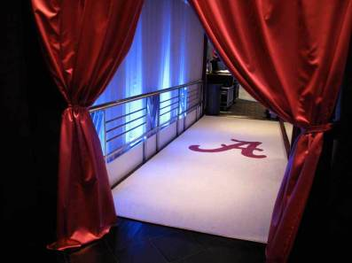Personalized-monogram-carpet-for-bar-mitzvah