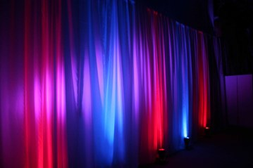 Various-color-uplighting-under-curtains
