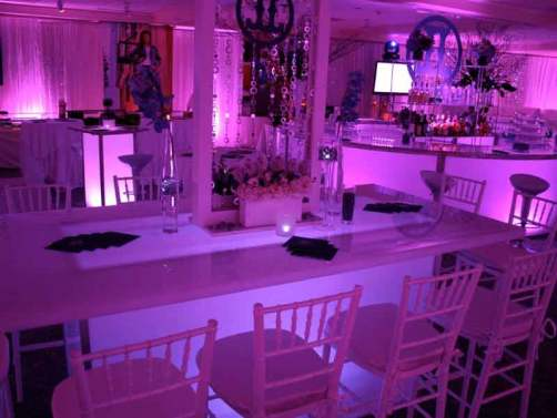 illuminated community tables
