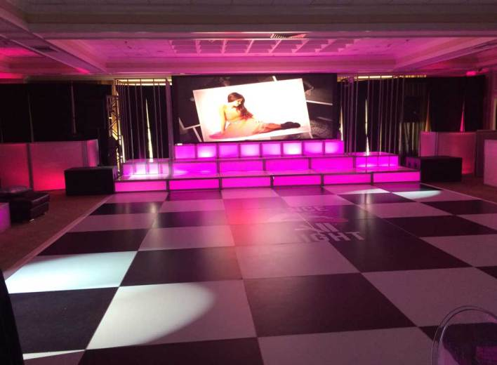 Video-wall-event-production
