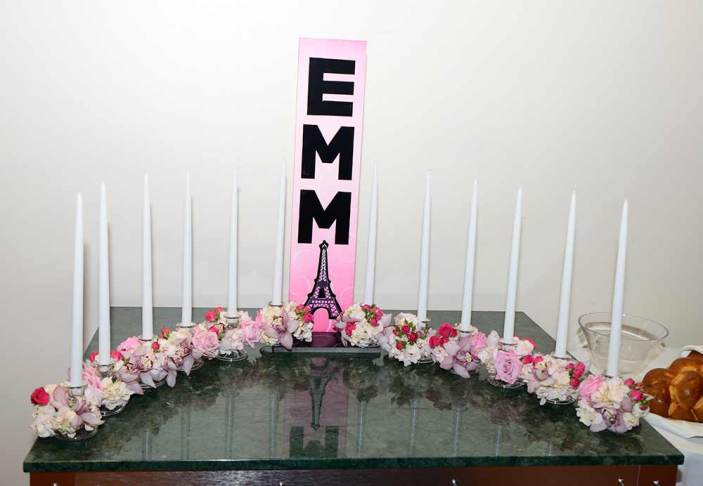 bat-mitzvah-candle-centerpiece