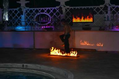 Country-Club-Event-Production-Fire-Video-with-Fire-Performer