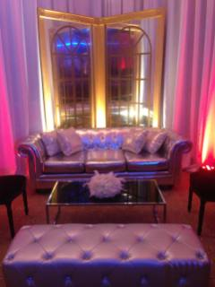 Gatsby-Event-Production-Art-Deco-Guilded-Mirror-Tufted-Couch-and-Settee