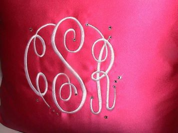 Sweet-16-Embroidered-Monogram-with-Jewels