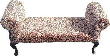 Leopard Victorian Setee