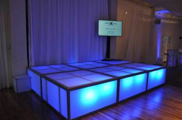 Celebrity-Cruise-Corporate-Event-with-LED-stage-decks-video-screen-and-drapes