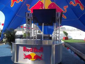 Red-Bull-Corporate-Event-Production-Video-Screens-on-Truss-Support