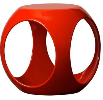 Modern-table-red