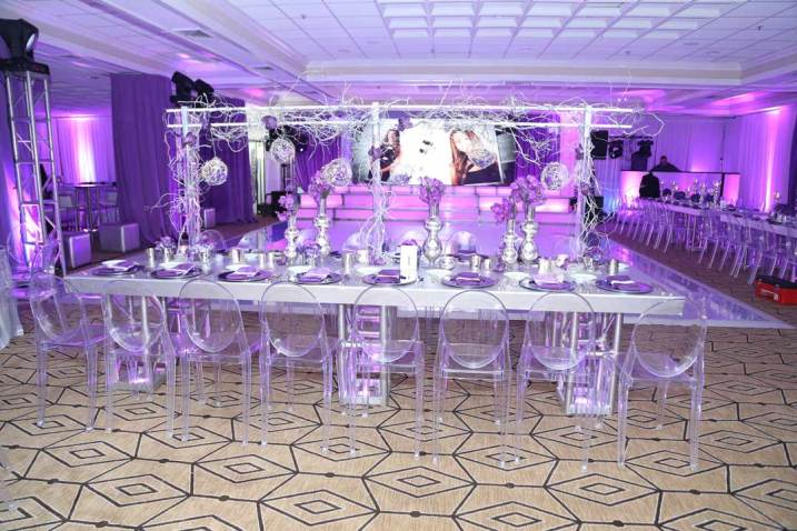 silver-wrapped-table-with-truss-lighting