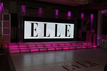 Large-video-screen-with-LED-stage-decks-and-white-portable-dance-floor