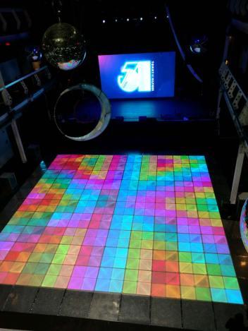 36' x 36' LED Dance Floor