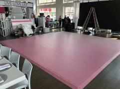 Portable-custom-pink-dance-floor