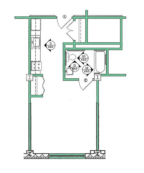 Towers East Floor Plan N