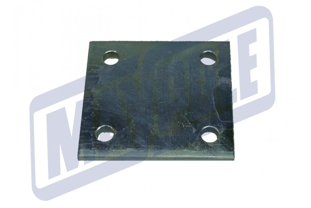 """4/"""" 6 Hole Drop Plate for Towbars Towing /& Towballs 102mm"""