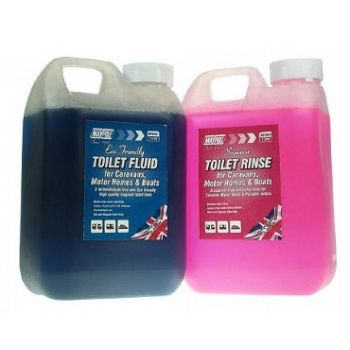 Toilet Rinse Twin Pack