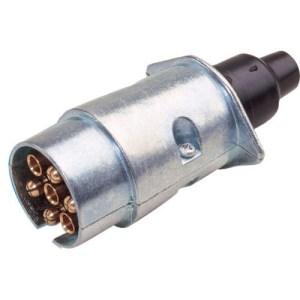7 Pin Aluminium Plug
