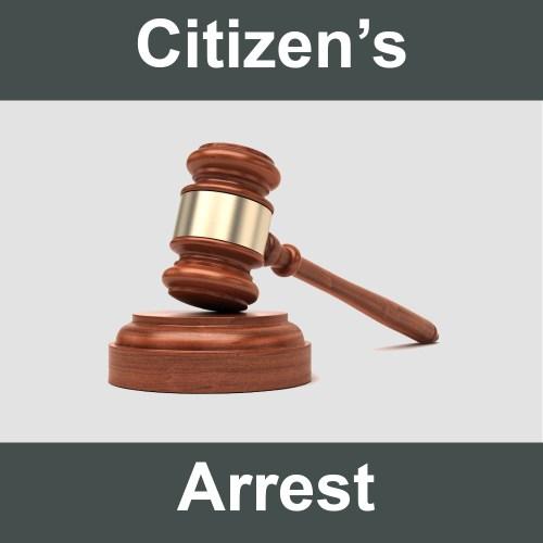 Citizen's Arrest: Tow Truck Driver as Crime-Stopper