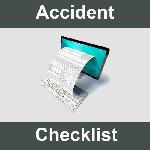 Roadside Accident Checklist