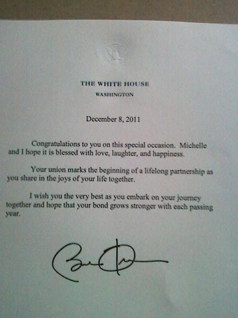 Obamaletter