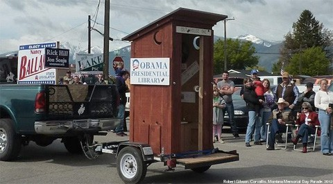 Obamaouthouse